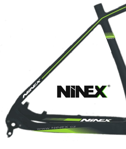 NINEX-SL rám MTB CARBON 29er TORAY T1000 ULTRALIGHT 980gr